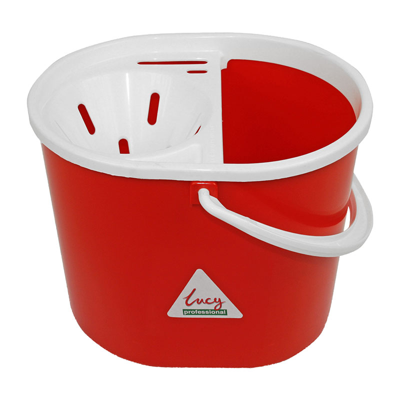 Dolly Mop Bucket 12L Red