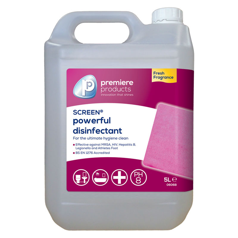 BACTERICIDAL SCREEN DISINFECTANT 5L       PREMIERE