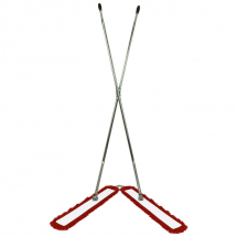 V Sweeper Frame Complete With Red Sleeve 40inch