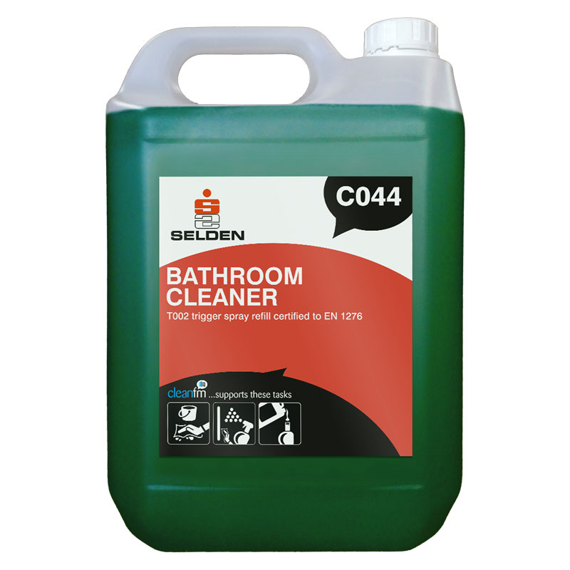BACTERICIDAL BATHROOM FOAMING CLEANER 5L C044