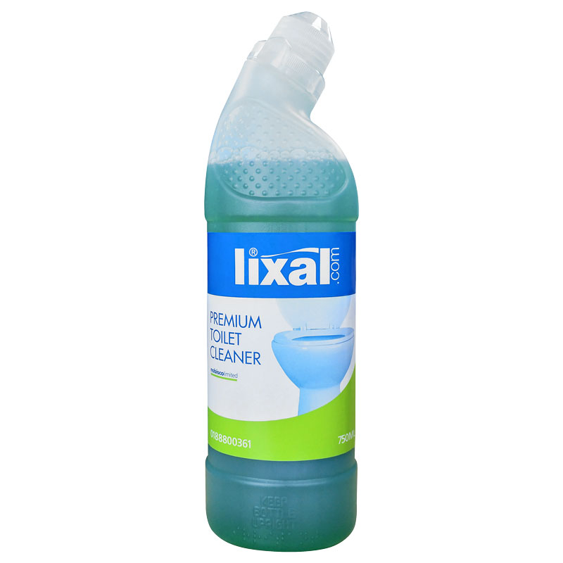 Lixal Premium Toilet Cleaner 750ml (Case/12)