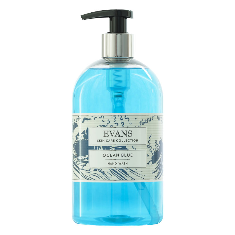 500ML ANTIBACTERIAL HANDWASH OCEAN BLUE PUMP ACTION
