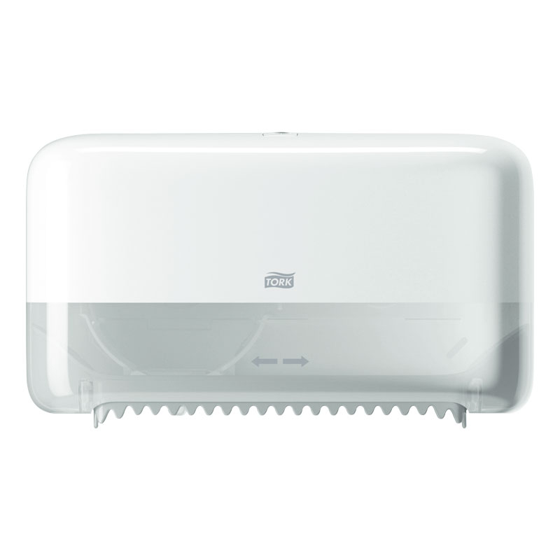 Compact Coreless Toilet Dispenser Plastic Double