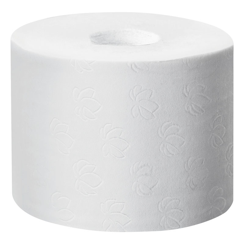 Compact Coreless Ensure Roll 2PLY White 36 Per Box Lotus