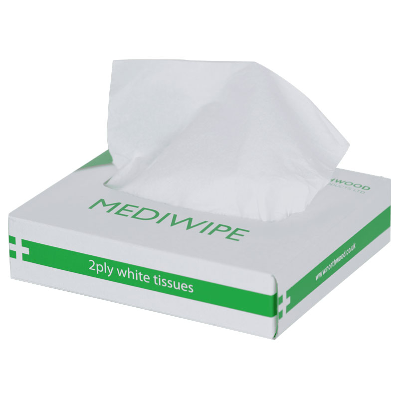 MEDIWIPE TISSUES 72 PER BOX