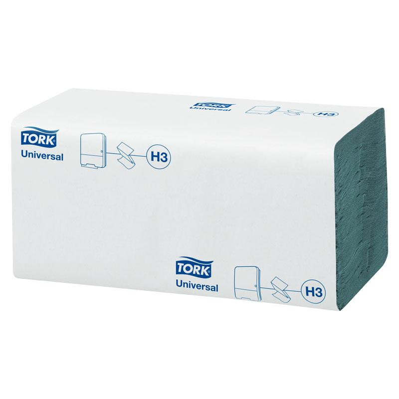 Single Fold Blue Hand Towels 4000 Per Box