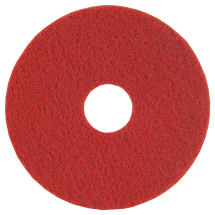 17inch Red Floor Pad - SYR 5 Per Pack