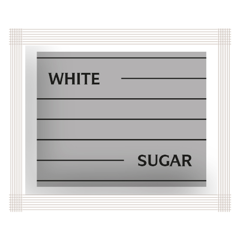 White Sugar Sachets 1000 Per Case