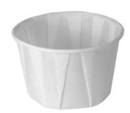 2oz Pleated Paper Portion Pot 5000 Per Box