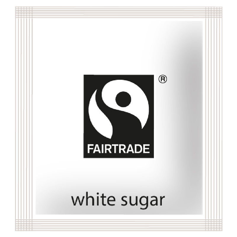Fair Trade White Sugar Sachet 1000 Per Case