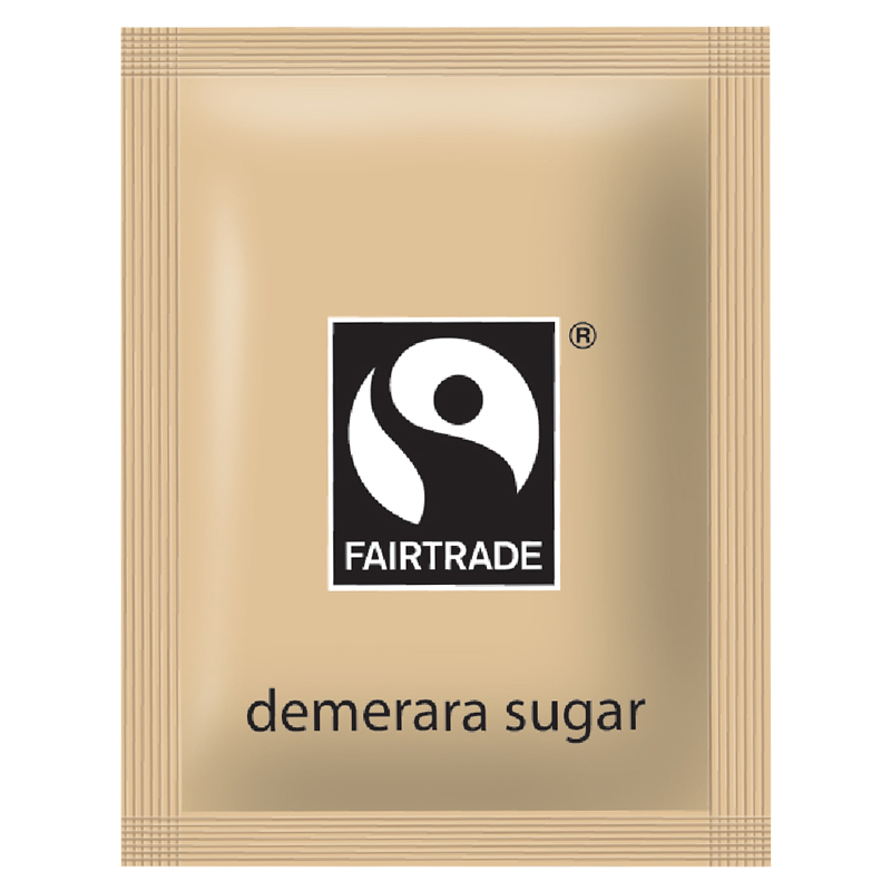 Fair Trade Brown Sugar Sachets 1000 Per Case