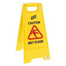 Yellow Folding Universal Floor Safety Sign