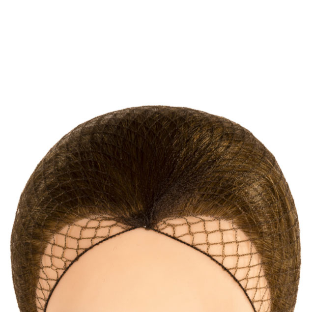 DISPOSABLE BROWN HAIR NETS 100 PER PACK