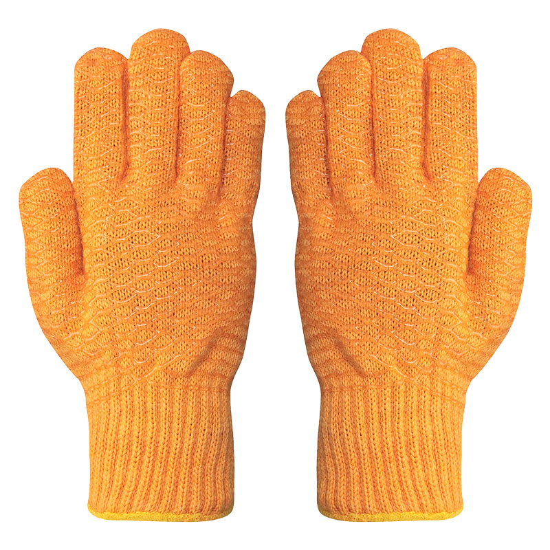 Yellow Polyester XX Gloves
