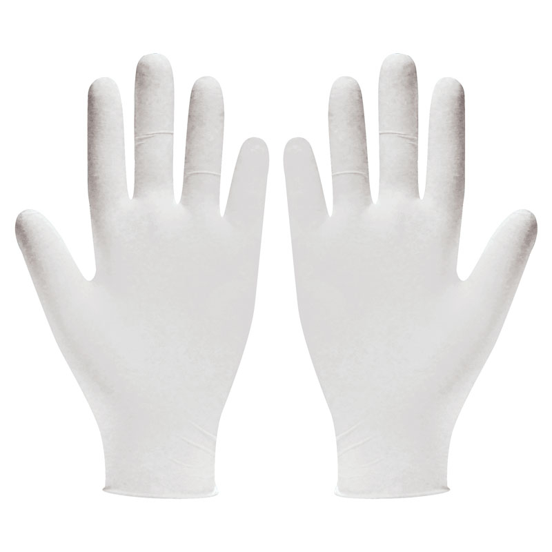 Latex Disposable Gloves Med. 100/Box