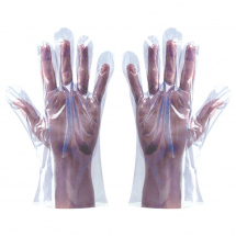 Blue Polythene Gloves In Bags (Pack/100)
