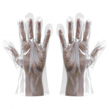 Clear Polythene Gloves In Bags (Pack/100)