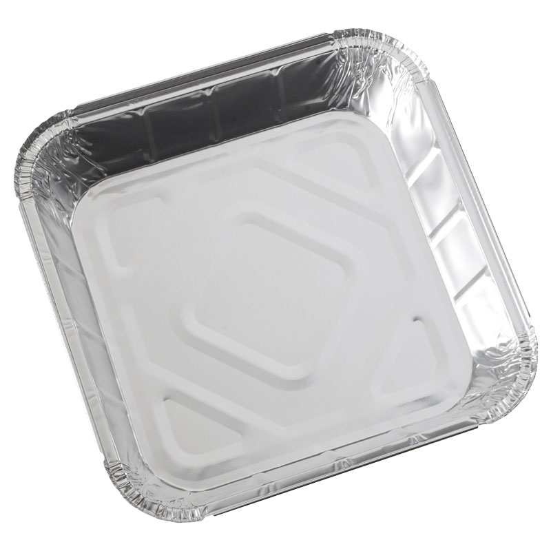 Foil Container 9.5 x 9.5 x 2Inch - Case/200