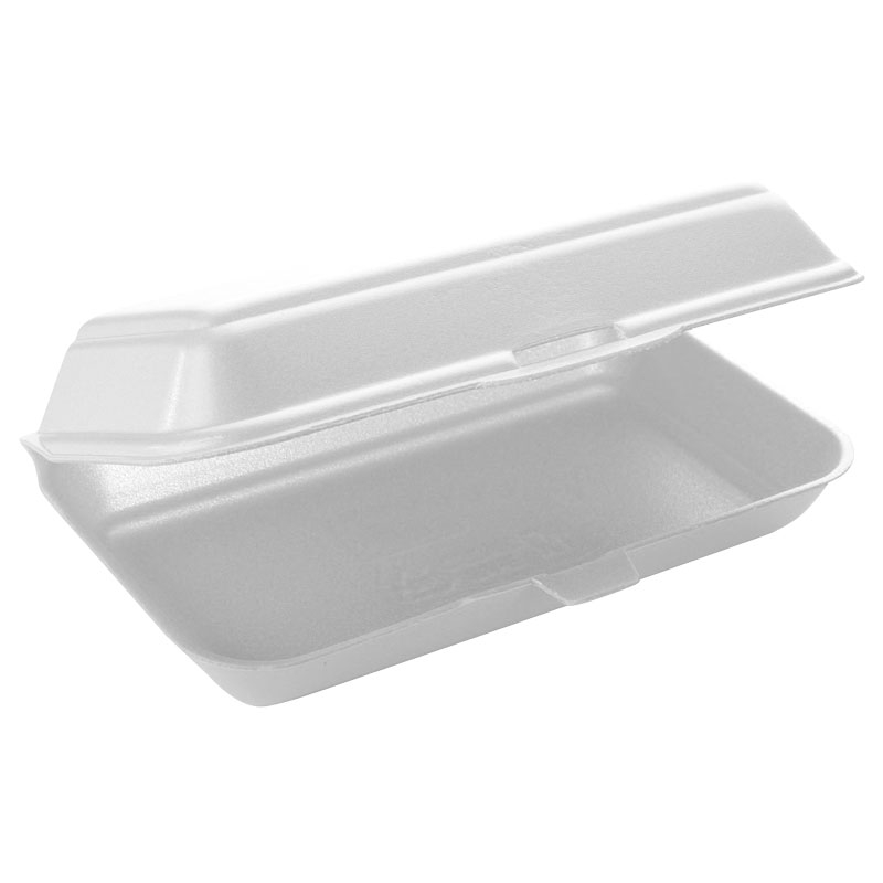 Fish And Chip Box Polystyrene TT10 250 Per Pack - White