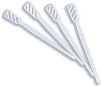 Plastic Tea Stirrers White 4Inch 5000 Per Case