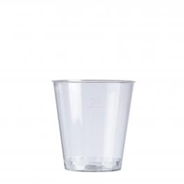 30ML Shot Glasses - Clear 1000 Per Box