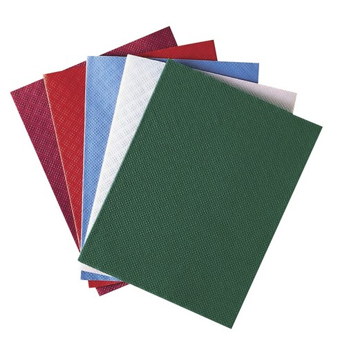 90X90CM Paper Damask Slip Cover- Red 25 Per Pack