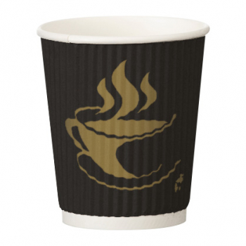 8oz Culture Dark Ripple Hot Cup (Case/500)