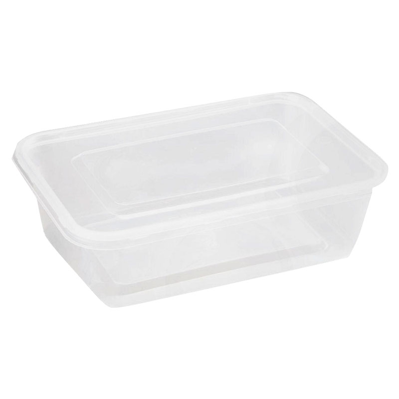 650ML MICROWAVEABLE CONTAINER & LIDS 250 PER BOX
