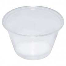 4oz Clear Portion Pot (Case/2,500)
