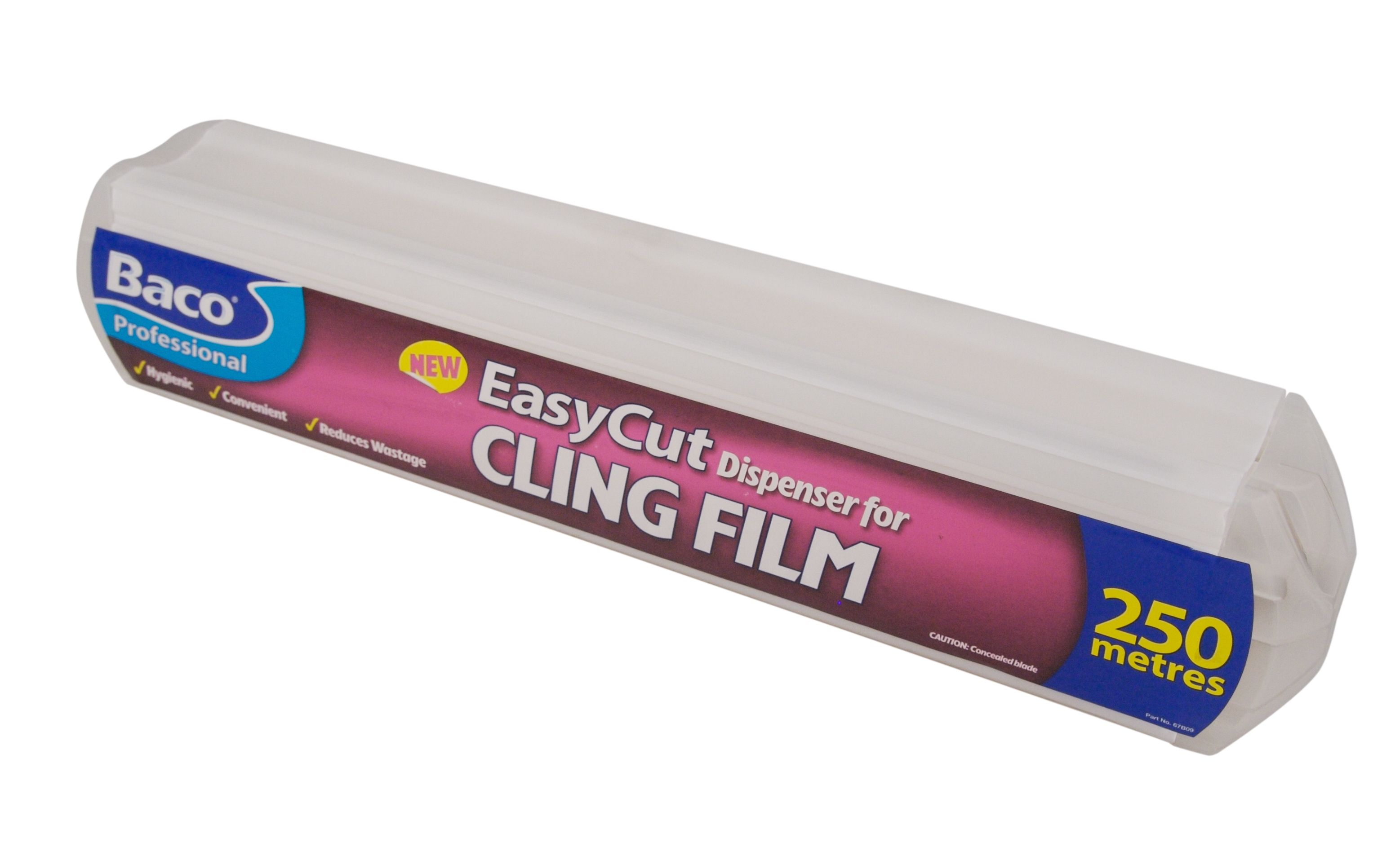 BACO 350MM CLING FILM IN EASY CUT DISPENSER