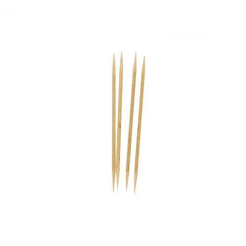 COCKTAIL STICK WOODEN 2 POINT 1000 PER PACK