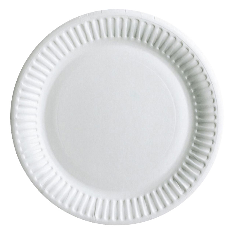 9Inch Paper Plate Main Meal 23cm 1000 Per Box