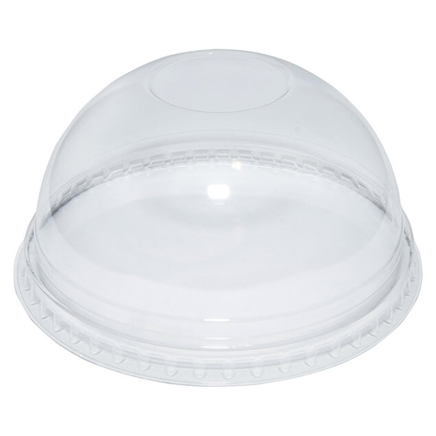 Dome Lid Without Hole To Fit 9/12Oz  1000 PER Case TP