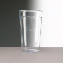20oz DISPOSABLE PINT GLASSES 500 PER CASE PINT TO BRIM