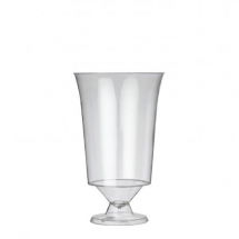 180ml DISPOSABLE WINE GLASS 250 PER CASE