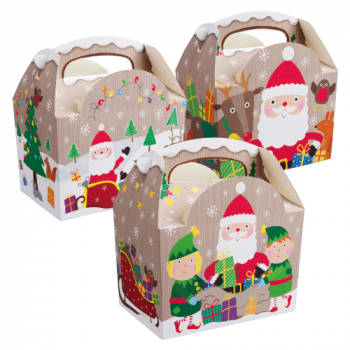 Childrens Meal Box Xmas Design - Case/250