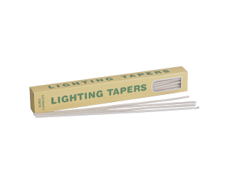 Lighting Waxed Tapers 55 Per Box