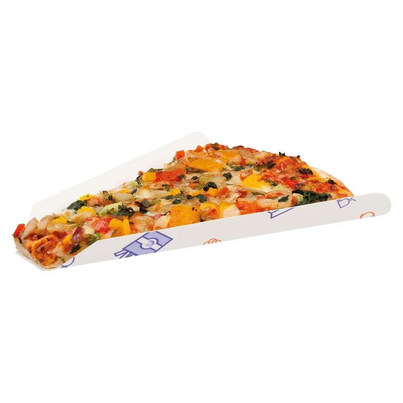 PIZZA SLICE TRAY / WEDGE  SS 1000 PER BOX