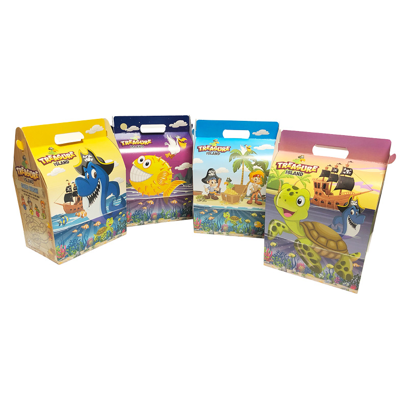 Childrens Meal Box 250/Case Pirates