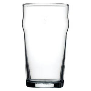 20Oz Nonic Glass CE Stamped Pint - 48 Per Case
