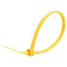 Yellow Cable Ties 203x4.6mm (Case/1,000)
