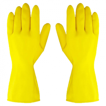 Yellow Washing Up Gloves (Pack/10)