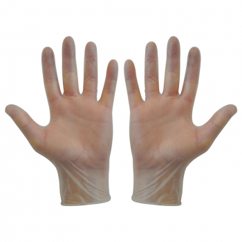 Clear Vinyl Disposable Gloves (Pack/100)