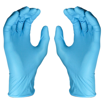 Blue Nitrile Disposable Gloves (Pack/100)