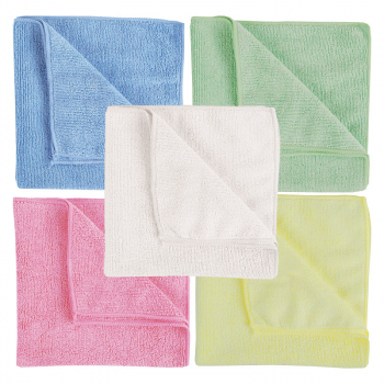 Heavyweight Microfibre Cloths (Pack/10)