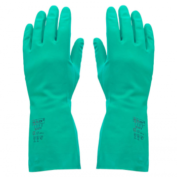 Green Nitrile Gloves (Pack/10)