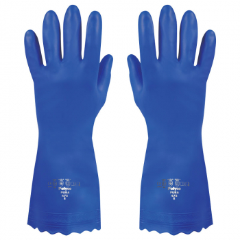 Pura Hypoallergenic Gloves Blue