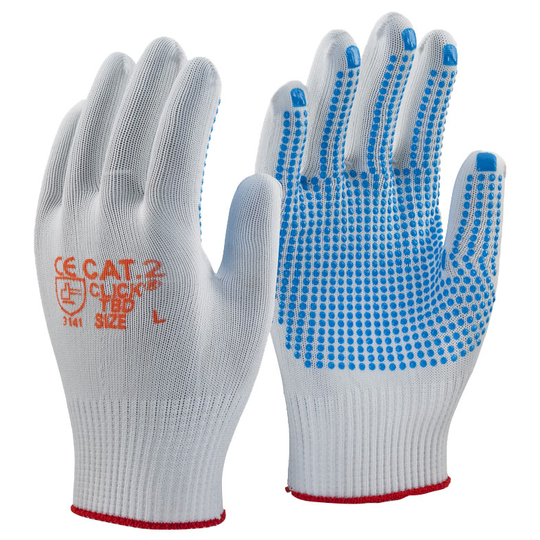 Tronix Blue Dot Work Gloves - Nobisco Limited