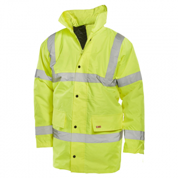 Saturn Yellow Constructor Traffic Jackets